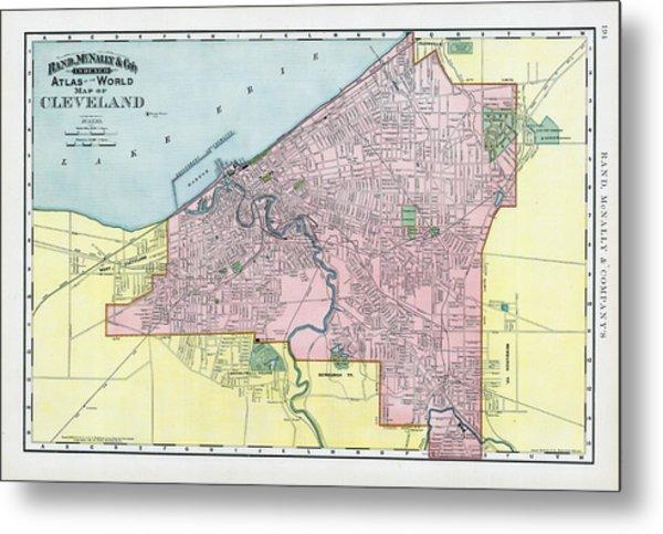1893 Cleveland Ohio World Atlas By Historic Map Works Llc