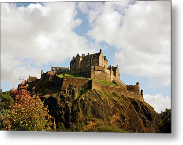 19/08/13 Edinburgh, The Castle. Metal Print