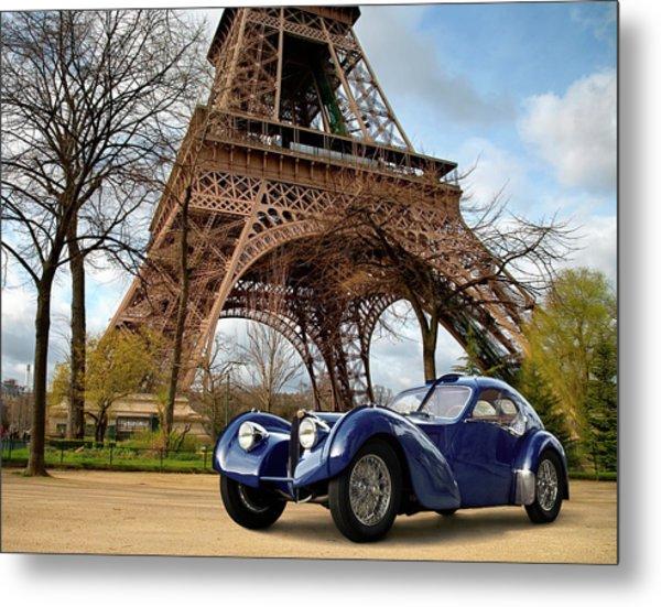 1938 Bugatti Type 57sc Electron Metal Print