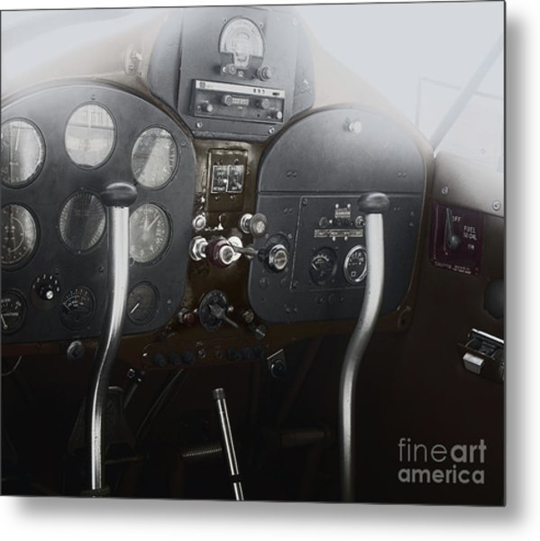 1946 Fairchild 24 Metal Print by Steven Digman