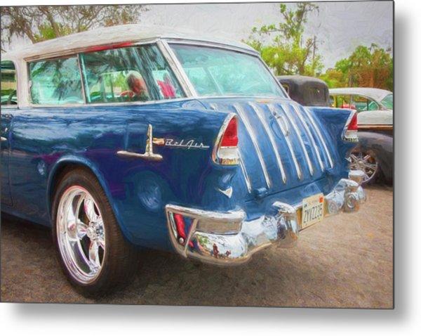 1955 Chevrolet Bel Air Nomad Station Wagon 228 Metal Print