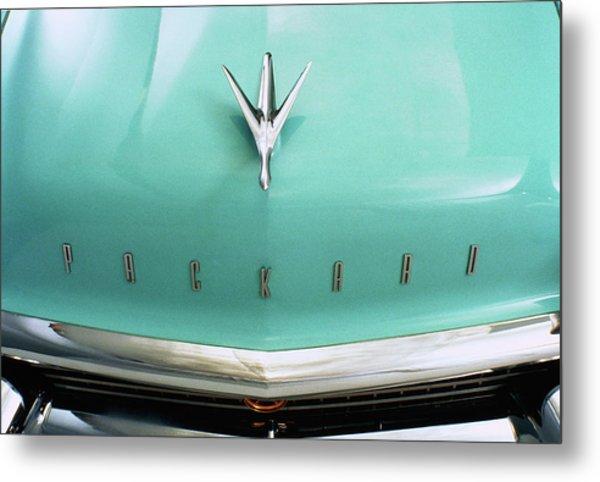 1957 Packard Clipper Country Sedan Hood Metal Print