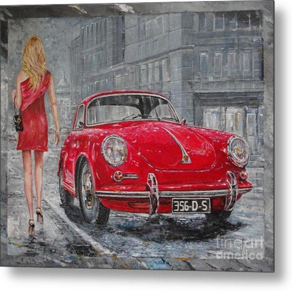 1965 Porsche 356 C Metal Print