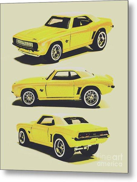 1969 Camaro Metal Print