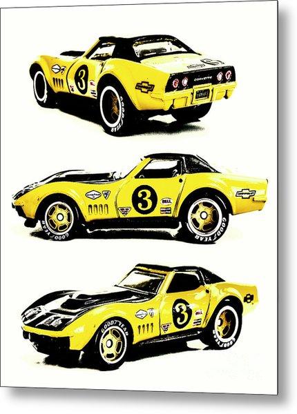 1969 Chevrolet Copo Corvette Metal Print