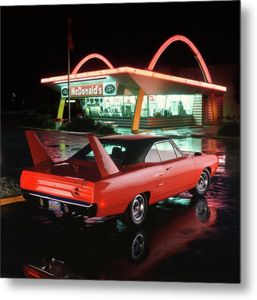 1970 Plymouth Superbird Metal Print by Car Culture