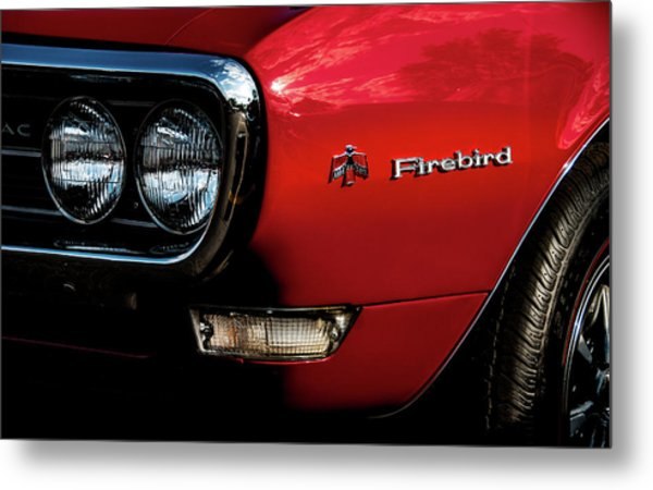 Metal Print featuring the photograph 1st Generation Firebird by Onyonet  Photo Studios