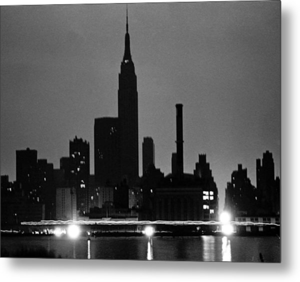 1977 Blackout Power Failure Metal Print