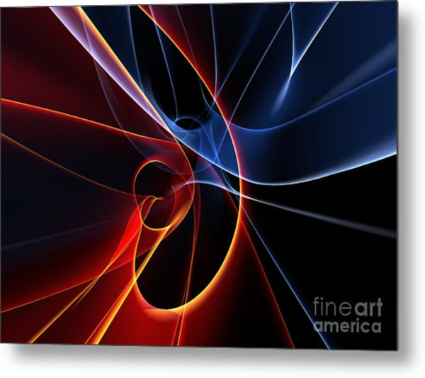 3d Rendered Backgrounds Metal Print