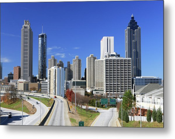 Atlanta, Georgia Metal Print by Jumper