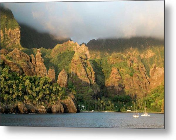 France, French Polynesia, Marquesas Metal Print by Gerault Gregory / Hemis.fr