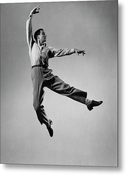 Gene Kelly Metal Print by Gjon Mili