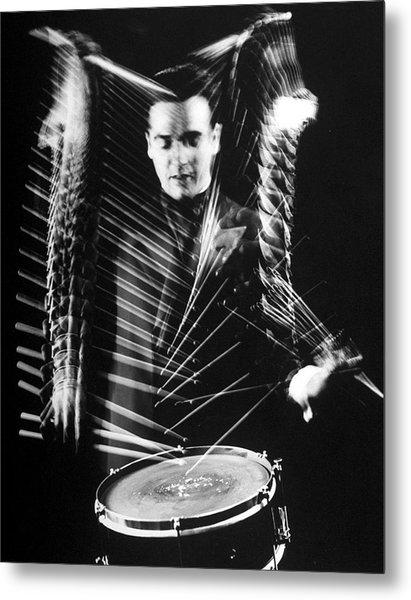Gene Krupa Metal Print by Gjon Mili