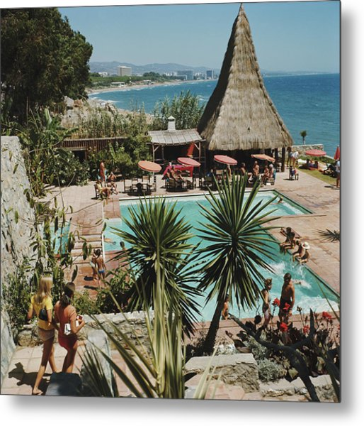 Marbella Club Metal Print