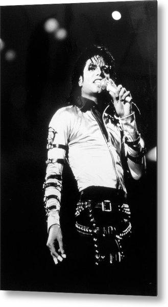 Michael Jackson Metal Print by Afro Newspaper/gado