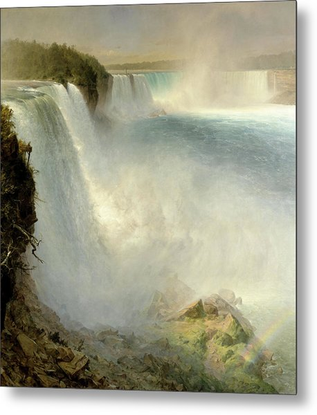 Niagara Falls, From The American Side Metal Print