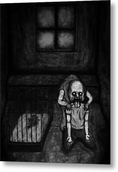 Nightmare Chewer - Artwork Metal Print