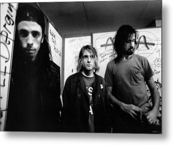 Photo Of Nirvana Metal Print by Paul Bergen
