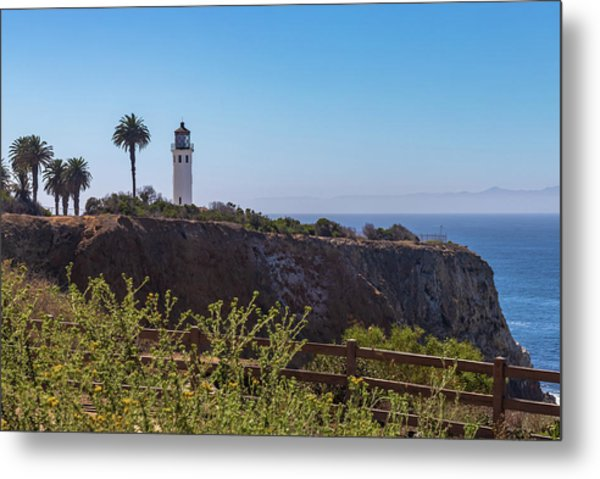 Point Vicente Lighthouse Metal Print