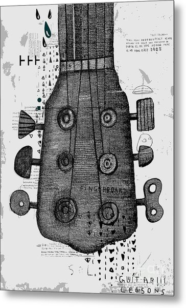 Symbolic Image Of Part Of A Musical Metal Print