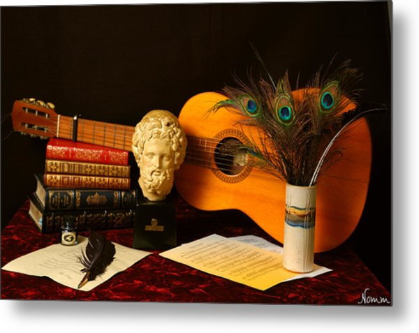 Metal Print featuring the photograph The Arts by Rein Nomm