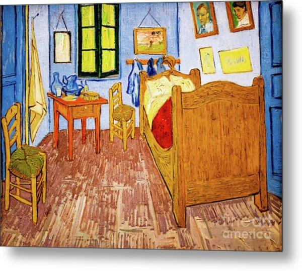 Van Gogh's Bedroom At Arles Metal Print