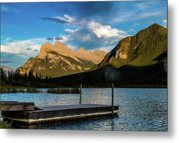Vermillion Lakes, Banff National Park, Alberta, Canada Metal Print