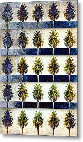 25 Palms Metal Print
