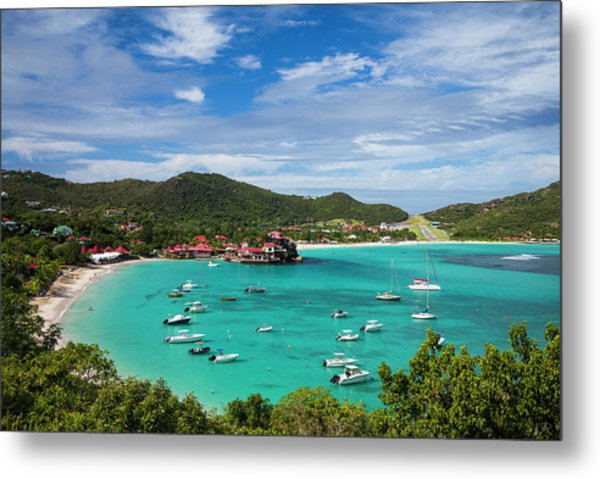 French West Indies, St-barthelemy Metal Print by Walter Bibikow