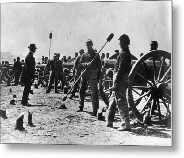 American Civil War Metal Print by Fotosearch