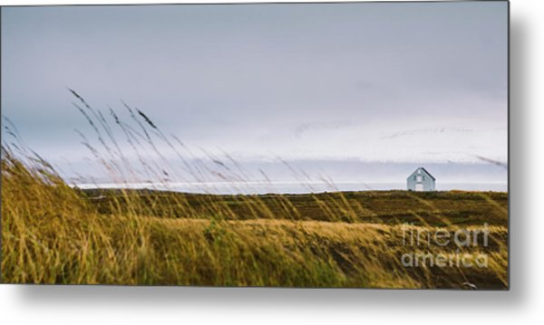 Beautiful Panoramic Photos Of Icelandic Landscapes That Transmit Beauty And Tranquility. Metal Print