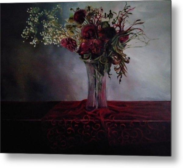 Beauty For Ashes Metal Print