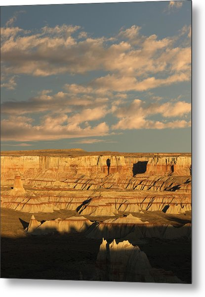 Coal Mine Canyon Near Tuba City Metal Print by Adam Jones