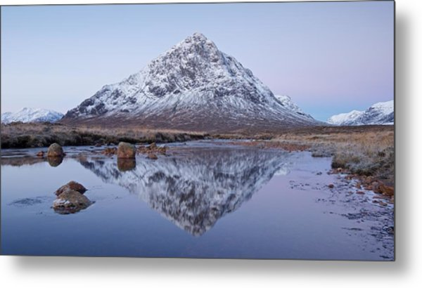 Metal Print featuring the photograph Dawn In Glencoe by Stephen Taylor