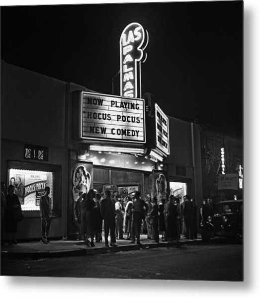 Los Angeles In The 1950s Metal Print
