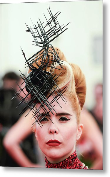 Punk Chaos To Couture Costume Institute Metal Print by Andrew H. Walker