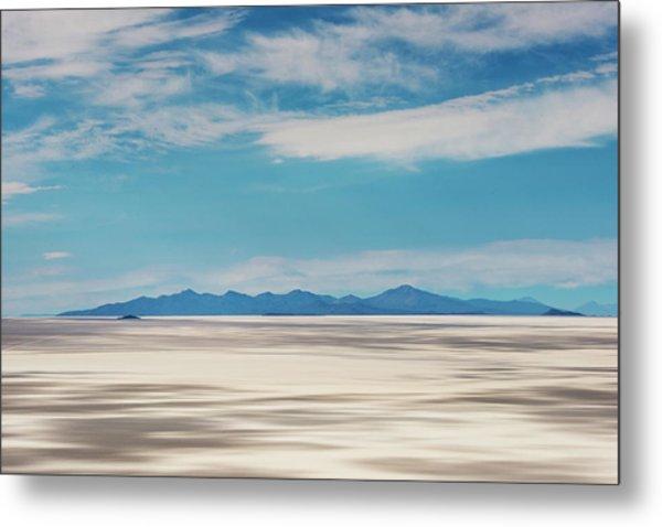 Salar De Uyuni, Bolivia Metal Print by Anthony Asael