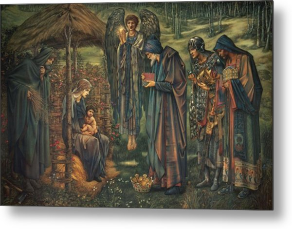 The Star Of Bethlehem Metal Print
