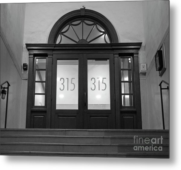 Metal Print featuring the photograph 315 by Patrick M Lynch
