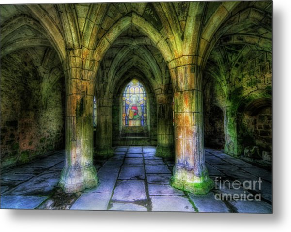 Valle Crucis Abbey Metal Print