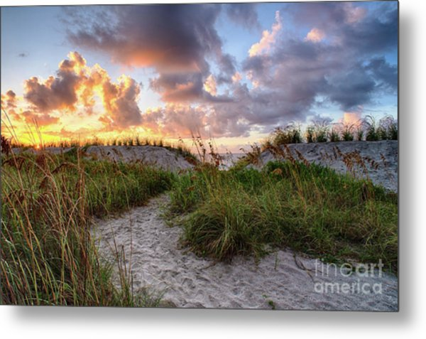 48th Ave. Sunrise North Myrtle Beach Metal Print