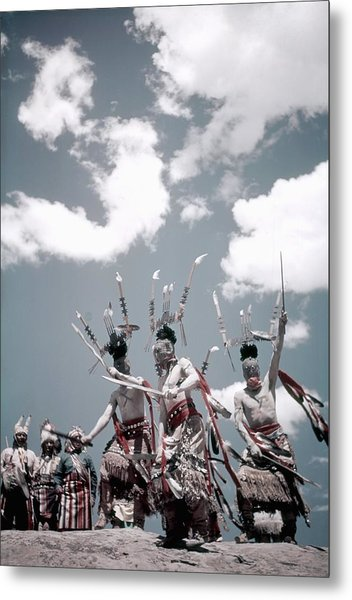 Inter-tribal Indian Ceremonial Metal Print by Michael Ochs Archives