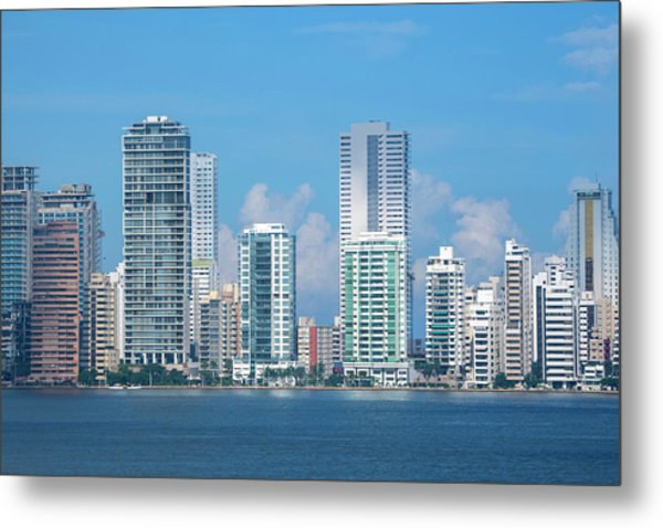 Colombia, Cartagena Metal Print by Cindy Miller Hopkins