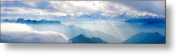 Landscapes In China Metal Print by 4x-image