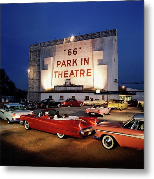 66 Park-in Theater Metal Print