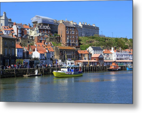 England, North Yorkshire, Whitby Metal Print by Emily Wilson