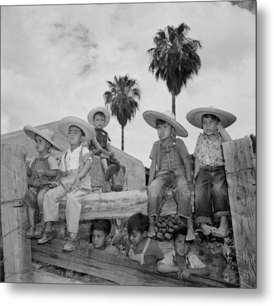 Ranching In Michoacan, Mexico Metal Print