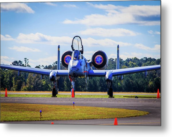 Metal Print featuring the photograph A-10c Thunderbolt II by Doug Camara