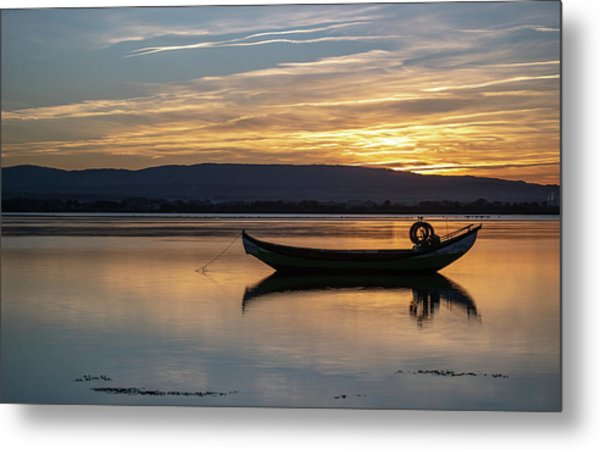 Metal Print featuring the photograph A Boat by Bruno Rosa