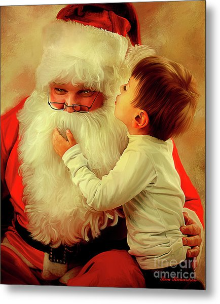 A Christmas Wish Metal Print